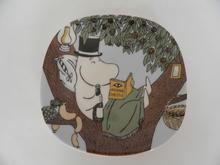 Moomin Wall Plate Back to Nature Arabia