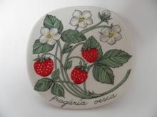 Wild Strawberry Wall Plate Esteri Tomula