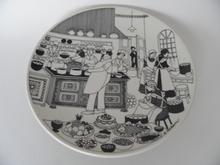 Keittiömestari seinälautanen Arabia