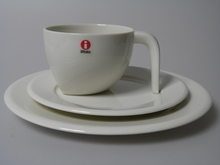 Ego Coffee Cup and two Plates