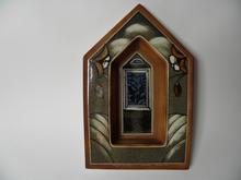 Kirkon ikkuna -lampetti Heljä Liukko-Sundström
