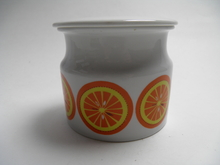 Pomona Jar Orange Arabia