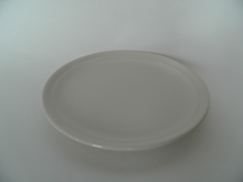 Olive Sideplate white Kermansavi