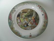 Foxwood Tales Breakfast Plate Summer V&B