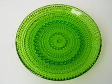 Kastehelmi lautanen vihreä 14 cm
