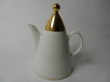 Harlekin Gold Coffee Pot Arabia