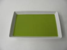 Suorakaide lautanen vihreä Arabia