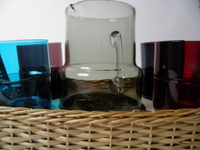 Pitcher and 8 Stackable glasses Saara Hopea SOLD OUT