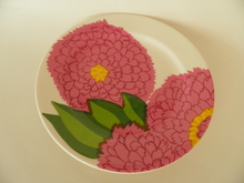 Primavera Plate raspberry red Iittala