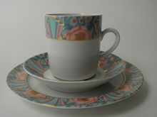 Amoroso kahvikuppi ja 2 lautasta MYYTY