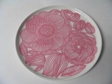 Kurjenpolvi lautanen 20 cm vaaleanpunainen