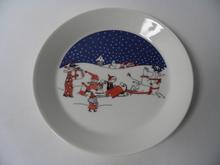 Moomin Plate Christmas Greeting