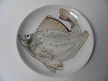 Kala lautanen 19,5 cm  Anja Juurikkala