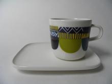 Lamppupampula Cup and Plate Marimekko
