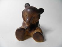 Karhu istuva Atabia