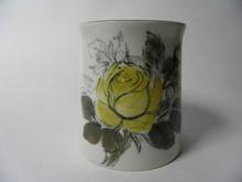 Maljakko keltainen ruusu HLA