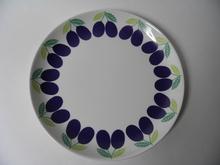 Pomona Plum Dinner Plate Arabia