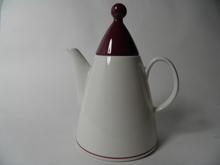 Harlekin Red Hat Coffee Pot Arabia