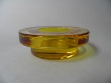 Halo Candleholder yellow Iittala
