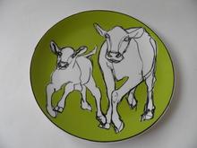 Iltavilli -lautanen vihreä Marimekko MYYTY