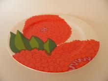 Primavera -lautanen punainen