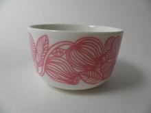 Kurjenpolvi small bowl pink Marimekko