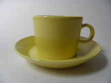 Teema Tea Cup and Saucer Yellow Arabia SOLD OUT