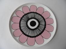 Kestit Plate pink Marimekko