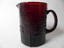 Flora Pitcher ruby red Oiva Toikka SOLD OUT