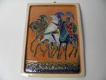 Ritarit ja hevoset Kupittaan savi