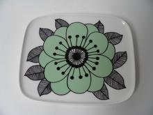 Kestit lautanen vihreä Marimekko