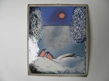 Winter Wall Plate Helja Liukko-Sundstrom