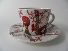 Tanssi Coffee Cup and Saucer Iittala