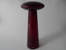 Atlas Vase / Candleholder red