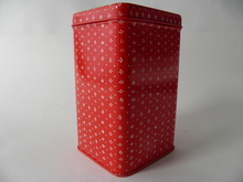 Muija Tin Box red Marimekko