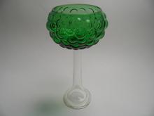 Rypale Footed Vase green Kumela
