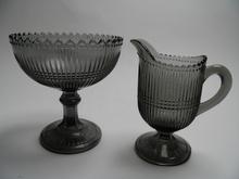 Creamer and Sugar Bowl grey Nuutajarvi