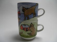 Cup Game Cats Helja Liukko-Sundstrom