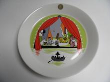 Moomin Plate Summer Theater