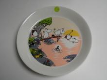 Moomin Plate Evening Swim Arabia