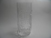 Flora Vase clear glass high