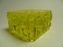 Taalari Candleholder yellow Riihimaki