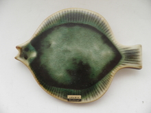 Fish green Wall Plate GOG