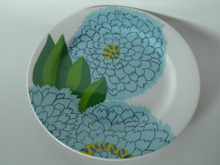 Primavera Plate light blue Iittala