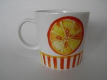 Orange Mug Arabia
