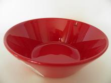 Teema syvä lautanen punainen Iiittala