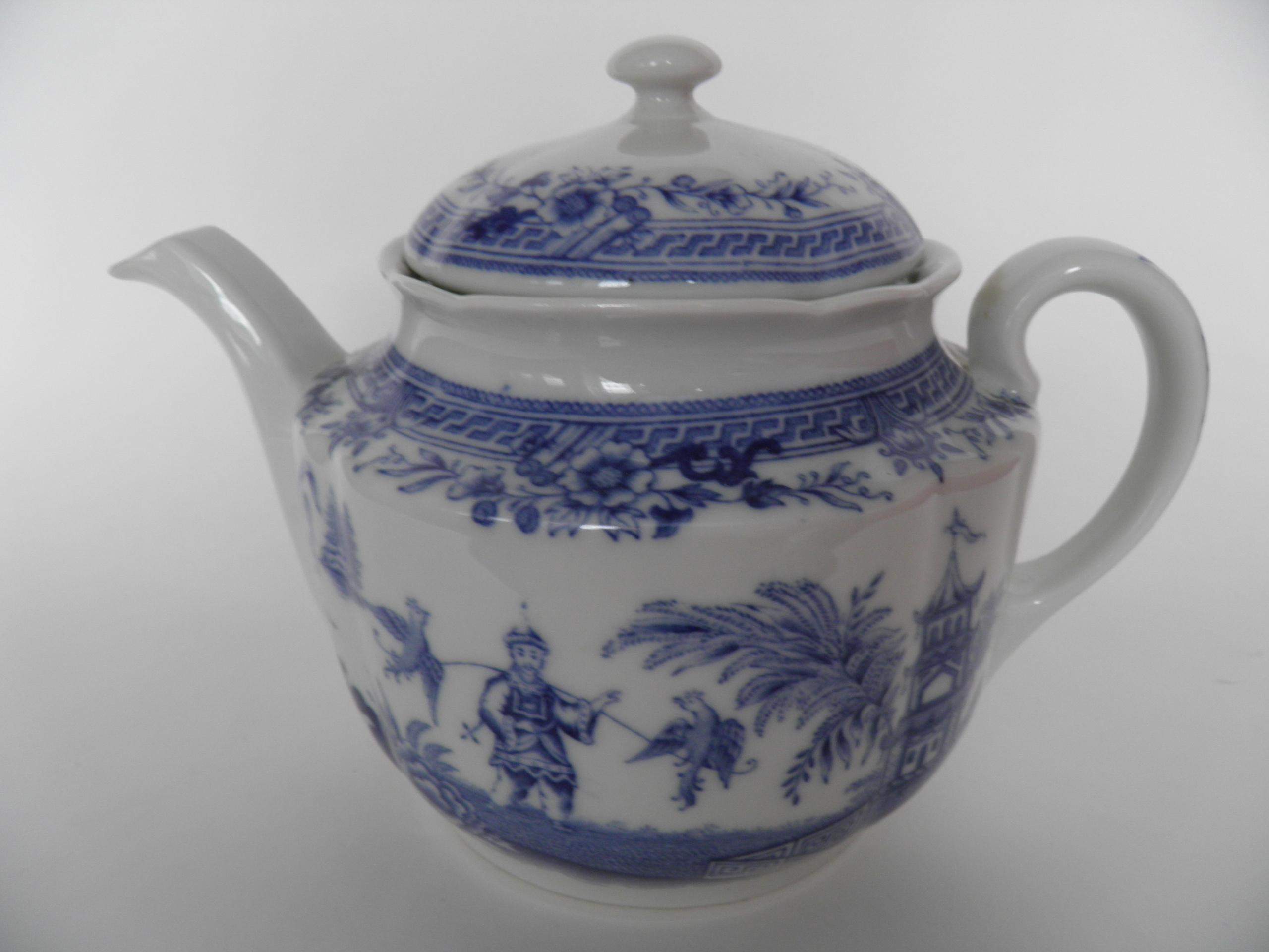 Singapore sininen teekannu Arabia | Tarjoiluastiat - Retronomi Oy