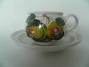 Pomona Portmeirion Coffee Cup & Saucer Pearl