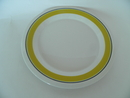 Faenza Plate 17 cm yellow SOLD OUT