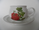 Pomona Portmeirion Tea Cup and Saucer Red Currant SOLD OUT